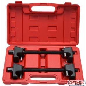 2pc Coil Spring Compressor For MacPherson Struts Shock Absorber Car Garage Tool 300мм - ZR-36SCC -  ZIMBER TOOLS