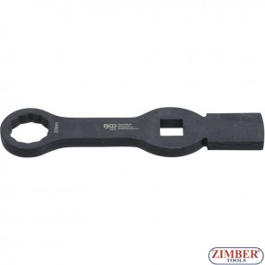 Slogging Ring Spanner | 12-point | with 2 Striking Faces | 30 mm - 35330 - BGS technic.