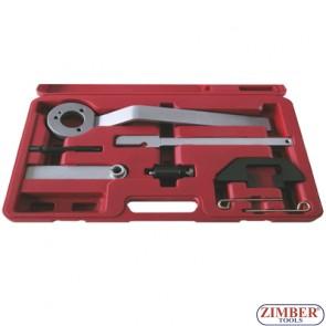 Набор инструмента для фиксации двигателя BMW / Land Rover / GM 2.5TD5 engines, ZR-36ETTS90 - ZIMBER TOOLS