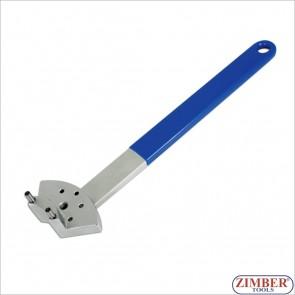 Ключ для регулировки ролика натяжителя ремня (VW,AUDI) ZR-36BTAT - ZIMBER-TOOLS