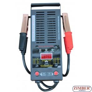 Тестер аккумуляторов цифровой 12V 250Ah / 1,000 CCA - ZT-04D3002 - SMANN TOOLS.