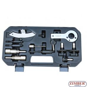 Набор инструмента для фиксации двигателя Fiat,Vauxhall/Opel | Saab 1.3 CDTi-1.9 CDTi  - ZIMBER TOOLS