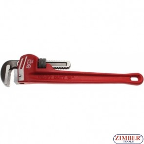 One-Hand Pipe Wrench 450 mm 25 - 51 mm (543) - BGS technic