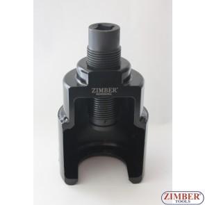Съемник шаровой опоры грузового автомобиля (39 мм) x 90.mm ,  ZR-36BJPB39 - ZIMBER-TOOLS.