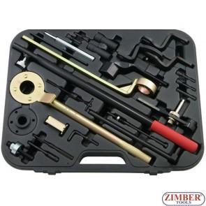 Набор инструмента для фиксации двигателя Honda, Mazda, Subaru, Hyundai & Daewoo,ZR-36ETTS166 - ZIMBER TOOLS.
