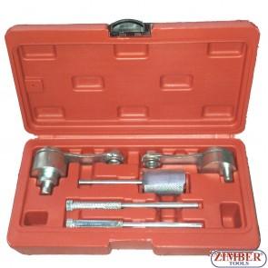 Набор инструмента для фиксации двигателя LAND ROVER, JAGUAR2.7TD V6 - ZK-1307.