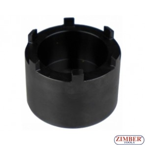"3/4"" Dr. Groove Nut Socket With 6 Studs for Mercedes-Benz Sprinter, ZR-36GNSW6S - ZIMBER TOOLS"