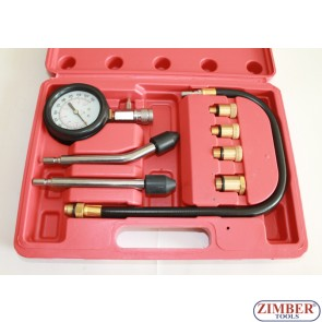 Компрессометр для бензиновых двигателей, ZT-04106 - SMANN TOOLS.