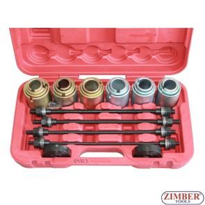 26пр Универсальный набор для снятия установки сайлентблоковt (ZT-04803) - SMANN TOOLS.