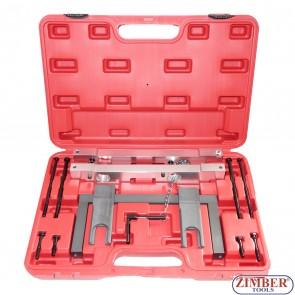 Набор инструмента для фиксации двигателя BMW - N51,N52,N53, N54, ZT-05195- SMANN TOOLS.