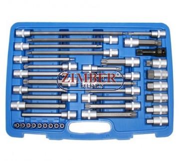"""BGS Tools 1//2/"""" Bit Socket Spline M12x140mm 5184-M12 XZN"""