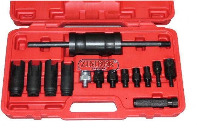 Injector Puller Remover Tool Kit Set Bosch Delphi Denso Siemens Diesel  Injection