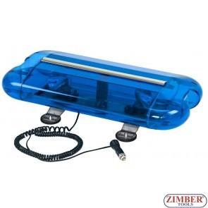 Сигнална лампа  с магнит , Лайтбар - 12V - ZTBG-110-2(Z)B