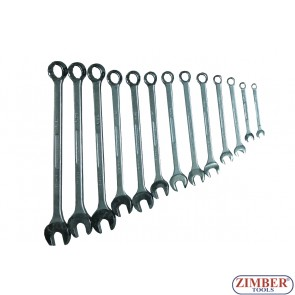 Combination Spanner Set Inch - Britool Expert - 13Pc