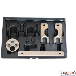 Garnitura alata za blokadu i zupčenje motora za MERCEDES BENZ M651 1.8/2.1 CDI  - ZR-36ETTS287 - ZIMBER TOOLS