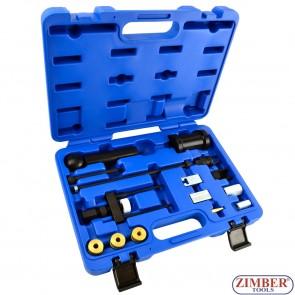 К-т за вадене и монтаж на FSI и Common Rail (TDI) инжектори  VW/AUDI, ZR-36IPERS01 - ZIMBER TOOLS