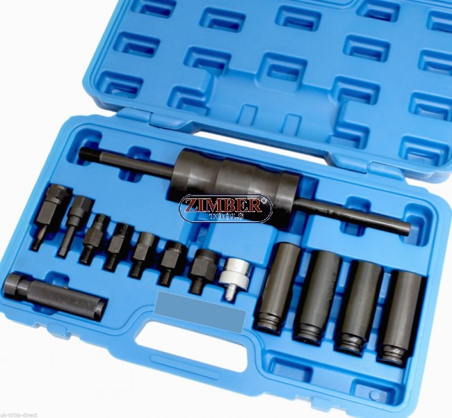 Injector Puller Remover Tool Kit Set Bosch Delphi Denso Siemens Diesel  Injection - ZT-04A3002( ZT-04342) - SMANN TOOLS