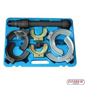 8PC Interchangeable-Fork Spring Compressor - ZK-1259