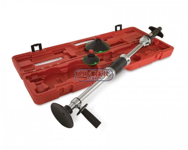 BGS Vacuum Ausbeulsatz Gleithammer Dellen Beulen entfernen Ausbeulen Werkzeug