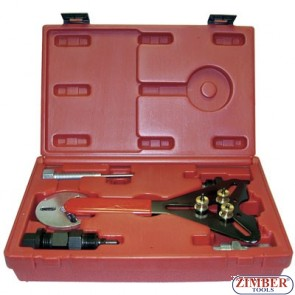 Automotive Air Conditioning A/C Compressor Clutch Tool Kit Installer/Remover Set, ZR-36ACHTK- ZIMBER TOOLS