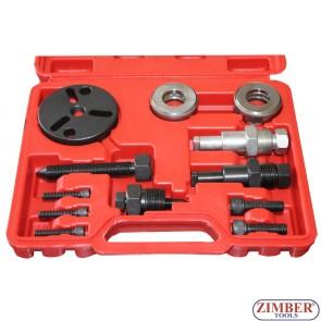 Air conditioner car compressor clutch hub remover installer kit - ZK-236